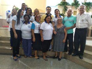 Posse da Diretoria da Comunidade Serra são João Batista - Distirito 155 - Aracaju - SE